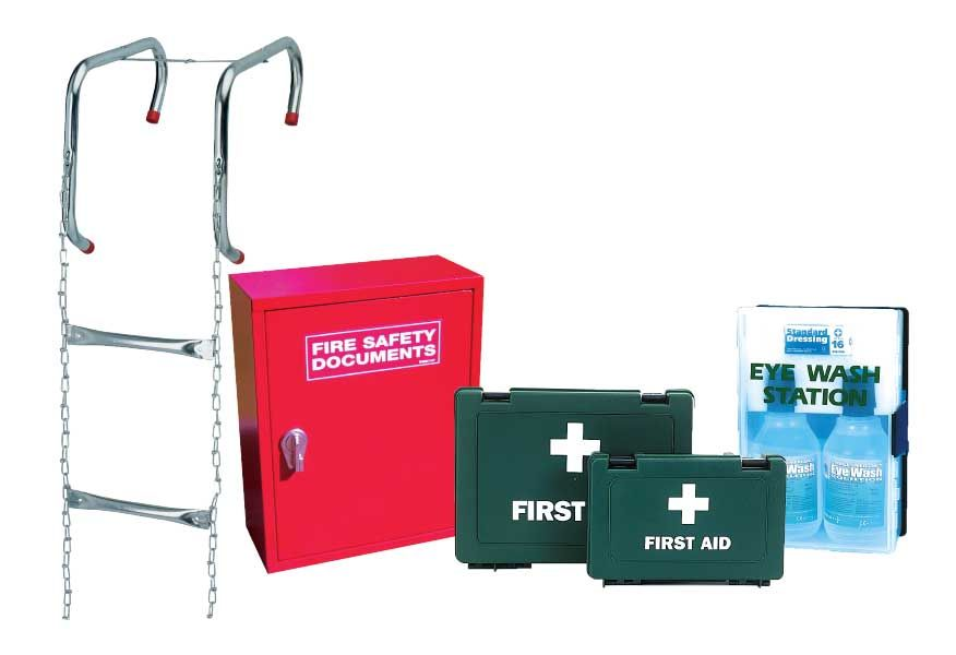 First Aid, Escape Ladders And Fire Safety