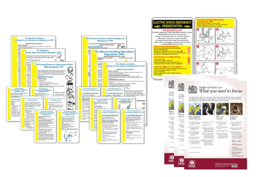 Pocket Guides, Posters & Wallcharts