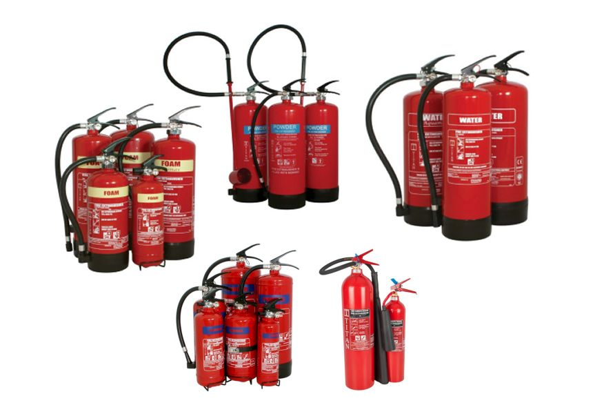 CLEARANCE Fire Extinguishers