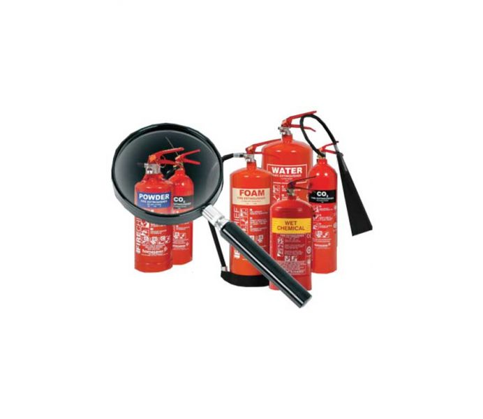 Fire extinguishers and certification
