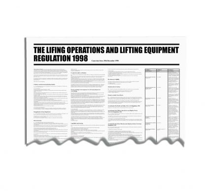 Lifting Operations And Lifting Equipment Regulation