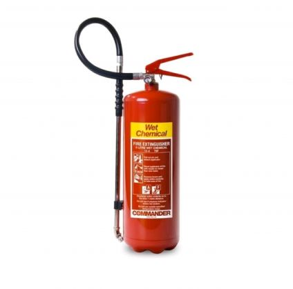 6 LITRE WET CHEMICAL FIRE EXTINGUISHER - CLEARANCE