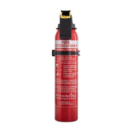 SMALL BC DRY POWDER FIRE EXTINGUISHER - 0.95KG / 950G - CAR/TAXI/BOAT/HOME
