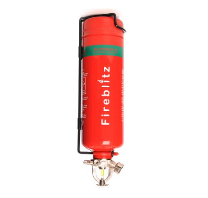 1KG CLEAN AGENT GAS FIRE EXTINGUISHER AUTOMATIC - CLEARANCE