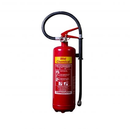 3 LITRE WET CHEMICAL FIRE EXTINGUISHER - CLEARANCE