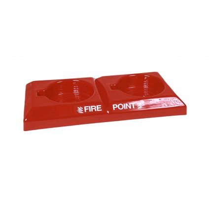 Double Fire Point H:75mm W:670mm D:315mm