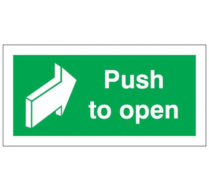 Push To Open - Self Adhesive - 50mm x 100mm