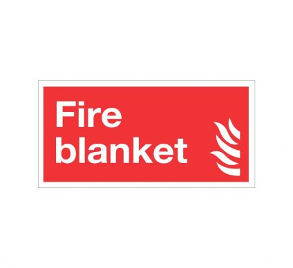 Fire Blanket - Rigid - 100mmx200mm