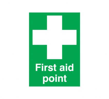 First Aid Point - S/A - 210mm x 148mm