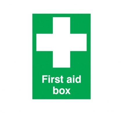 First Aid Box - S/A - 210mm x 148mm