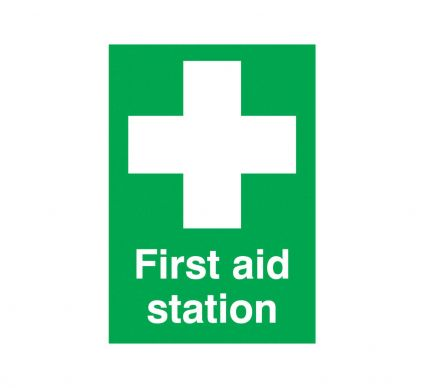 First Aid Station - S/A - 210mm x 148mm