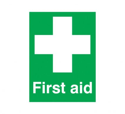 First Aid - S/A - 150mm x 125mm