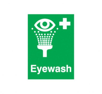 Eyewash - Rigid - 100mm x 75mm