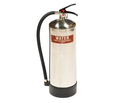 Stainless Steel 9 Ltr Water Extinguisher