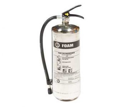 Stainless Steel 9 Ltr Foam Extinguisher