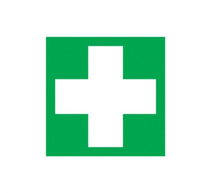 First Aid Symbol - S/A - 150mm x 150mm