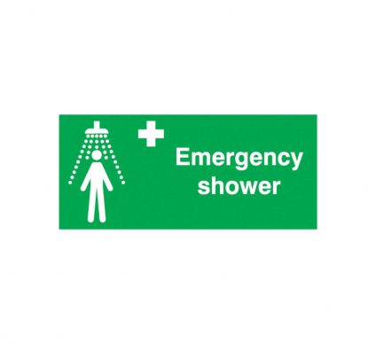 Emergency Shower - S/A - 100mm x 200mm