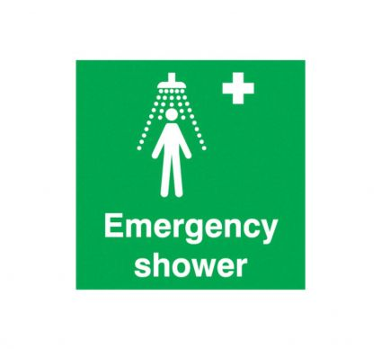 Emergency Shower - S/A - 150mm x 150mm