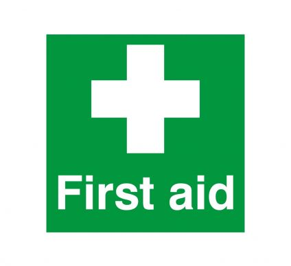 First Aid - S/A - 150mm x 150mm