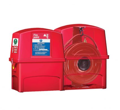 RX6 Hose Reel Box With Integrated Alarm